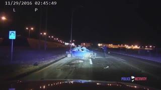 Walmart Shoplifter Crashes Fatally After Fleeing Police