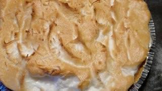 Yummy Homemade Coconut Pie