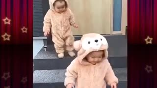 Adorable twins