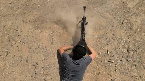 Giant 50 Calober Rifle Blast