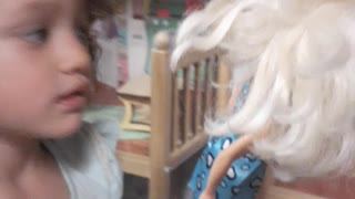 Playing barbies together