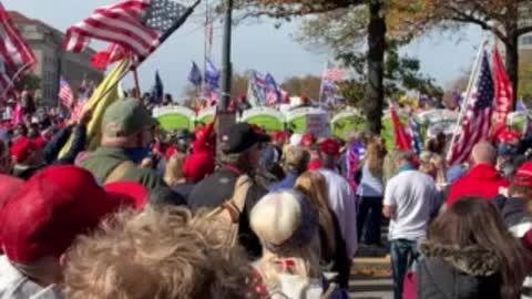 MILLION MAGA MARCH - WASHINGTON DC 2020