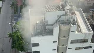 Incendio en Castillogrande