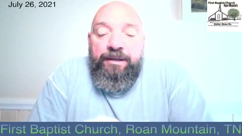Morning Devotion With Mike - July 26, 2021