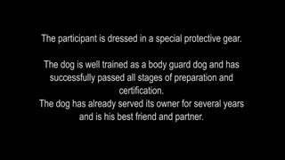 Self Defense against a Dog attack