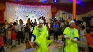 Spectacular wedding show dance