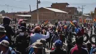 Con bloqueos y sin diálogo, Bolivia inicia una nueva semana de protestas