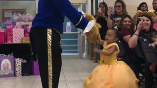 Dad Has A Special Dance For His Daughter's Birthday