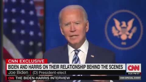 Bizarre Interview: Biden Jokes He Would 'Fake Illness And Resign'