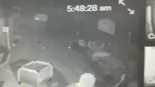 Security camera strange activity