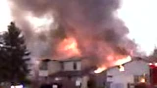 Canal Fulton Ohio Waterside Street Apartment Fire 2010