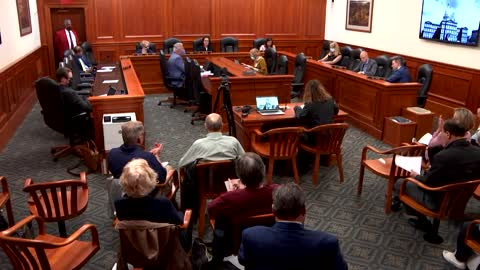 Testifying Before The Michigan House Elections & Ethics Committee on HCR-5