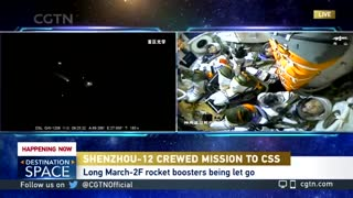 China successfully LAUNCHES first astronauts to new space station