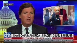 Tucker Carlson counterattacks Omar, Pt. 1