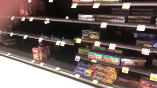 Food shortages the beginning of march