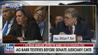 Kamala Harris questions AG Barr