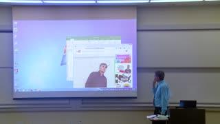 Math Professor Fixes Projector Screen Prank (April Fools)