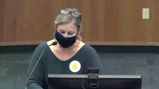 Alachua County School Board Meeting 5/4/21 - Angie