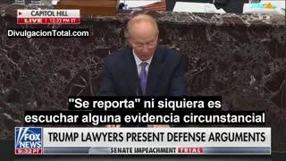 12-FEB-2021 Bruce Castor - Abogado de Trump en Impeachment