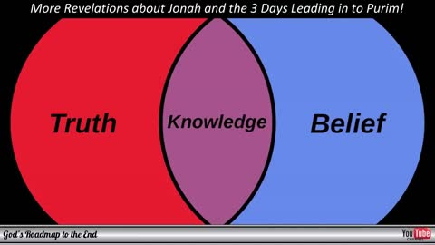 More Revelation Concerning the Sign of Jonah and the 3 Days Leading into Purim!