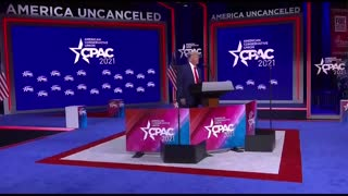President Trump's speech at CPAC 2021 Conference