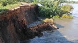 Puerto Wilches está en riesgo de inundación por colapso de un dique en el río Magdalena
