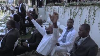 Funeral del asesinado presidente haitiano fue asediado por protestas