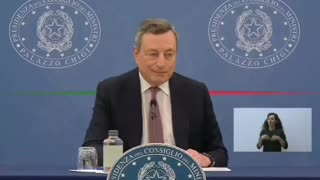 ❗️Clamorosa manipolazione di Mario Draghi: