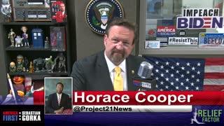 Shame on Joe Biden. Horace Cooper with Sebastian Gorka on AMERICA First