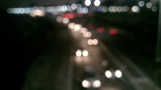 Driver First Time Night drive In Highway