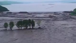 China Dams Collapsed!!