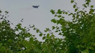Russian fifth-generation fighter Su-57 during testing for the upcoming demonstration event