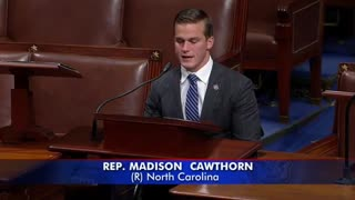 """""""Madam Speaker, You Are Not God!"""" Angry Madison Cawthorn EXPLODES on House Floor"""