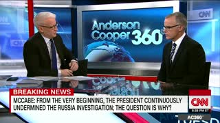 Andrew McCabe: Decision to investigate Trump as a Russian agent
