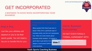 Youth Sports Business Blog