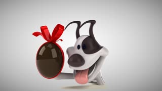 3d Cartoon Dog Animal Puppy Pet