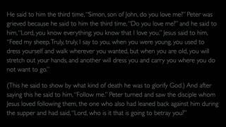 The Gospel of John - Chapter 21
