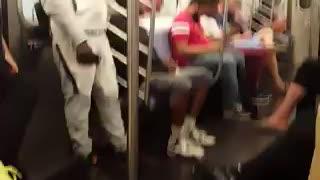 Subway fun show
