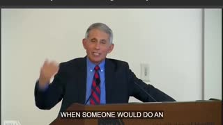 Fauci lifts restrictions on gain of function research