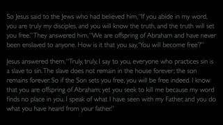 The Gospel of John - Chapter 8