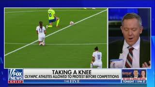 Greg Gutfeld on Women's Soccer Team