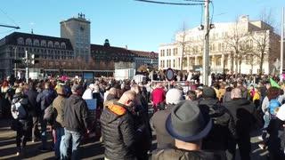 Leipzig Demo Augustusplatz 07.11.2020