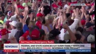 """Crowd Goes Wild, Shouts """"Trump Won!"""" at MAGA Rally"""