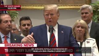 Trump defends Trump Jr. Part 2