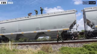 Migrants Found Sealed Into Trains In South Texas