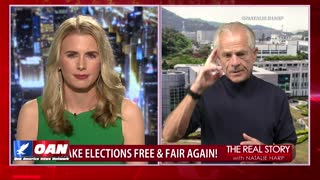 The Real Story - OANN Voter Protection with Peter Navarro
