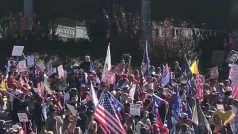 """""""AUDIT THE VOTE"""" - Trump Supporters gather at Harrisburg Capitol Building - Massive Turnout"""