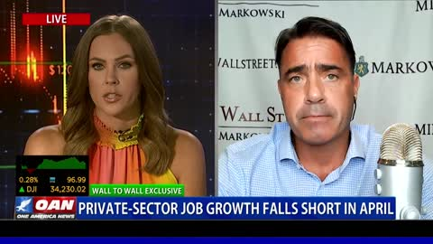 Wall to Wall: Chris Markowski on Private Jobs Report