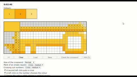 Nonograms - Golden key