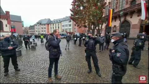 Die Apfel Polizei in Frankfurt